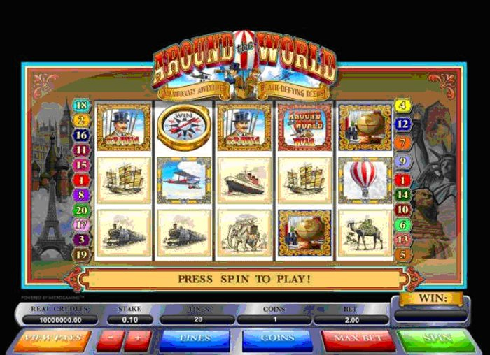 NetEnts Around the World Online Casino Promotion
