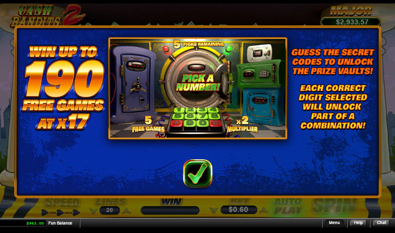 Cash Bandits 2 Slot Review Rtg Video Slot No Deposit Needed No Deposit Casino Bonuses