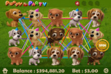 Puppy Party Mobilots Slot Review