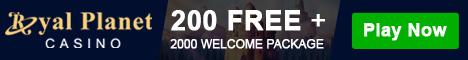 Royal Planet Casino Free Bonus